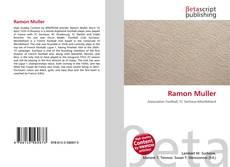 Portada del libro de Ramon Muller