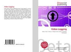 Bookcover of Video Logging
