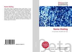 Bookcover of Name Dialing