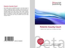 Bookcover of Patents County Court