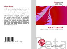 Bookcover of Ramon Sender