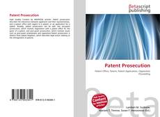 Bookcover of Patent Prosecution