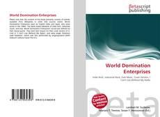 Обложка World Domination Enterprises