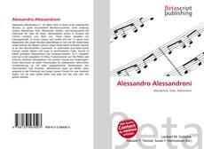 Bookcover of Alessandro Alessandroni