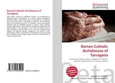 Buchcover von Roman Catholic Archdiocese of Tarragona