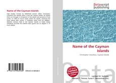 Обложка Name of the Cayman Islands