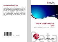 Copertina di World Entertainment War