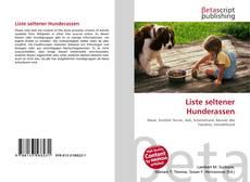 Portada del libro de Liste seltener Hunderassen