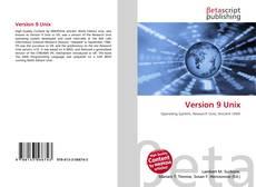 Bookcover of Version 9 Unix
