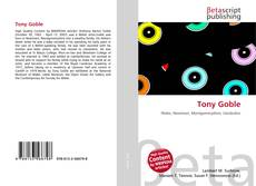 Bookcover of Tony Goble