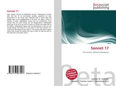 Bookcover of Sonnet 17