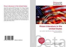 Bookcover of Prison Literature in the United States