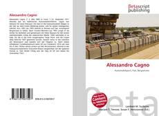 Couverture de Alessandro Cagno