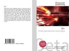 Bookcover of V+