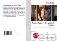 Bookcover of Prison Rape in the United States