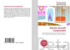 Buchcover von Warner Aircraft Corporation