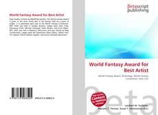 Portada del libro de World Fantasy Award for Best Artist