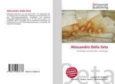 Capa do livro de Alessandro Della Seta