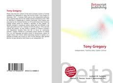 Tony Gregory kitap kapağı