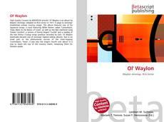 Bookcover of Ol' Waylon