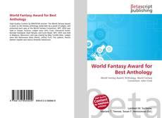 Portada del libro de World Fantasy Award for Best Anthology