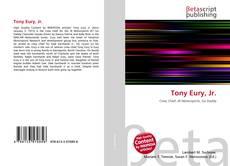 Buchcover von Tony Eury, Jr.