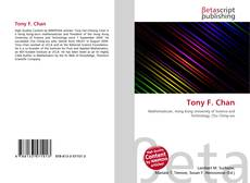 Bookcover of Tony F. Chan