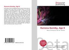 Buchcover von Ramona Quimby, Age 8