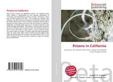 Buchcover von Prisons in California