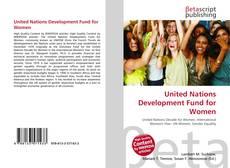 Обложка United Nations Development Fund for Women