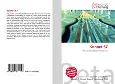 Buchcover von Sonnet 67