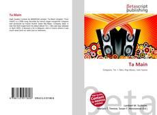 Bookcover of Ta Main