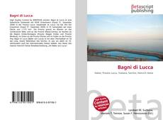 Portada del libro de Bagni di Lucca