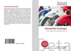 Capa do livro de Alessandro Gramigni