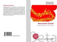 Bookcover of Alessandro Grandi
