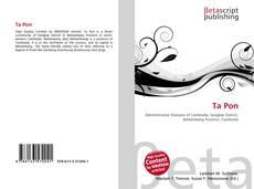 Capa do livro de Ta Pon
