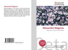 Bookcover of Alessandro Maganza
