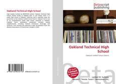 Oakland Technical High School kitap kapağı