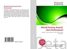 Portada del libro de World Fantasy Award, Non-Professional