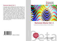 Capa do livro de Ramones Mania Vol. 2
