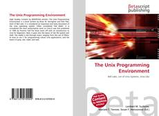 Bookcover of The Unix Programming Environment
