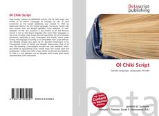 Bookcover of Ol Chiki Script