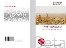 Bookcover of Prithviraj Chauhan