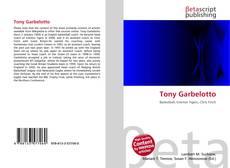 Copertina di Tony Garbelotto