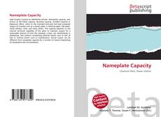Portada del libro de Nameplate Capacity
