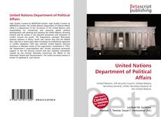 United Nations Department of Political Affairs的封面