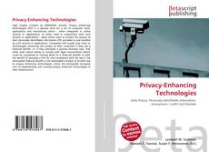 Bookcover of Privacy-Enhancing Technologies