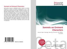 Bookcover of Sonnets on Eminent Characters