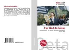 Capa do livro de Iraq Stock Exchange