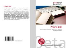 Bookcover of Private Disk